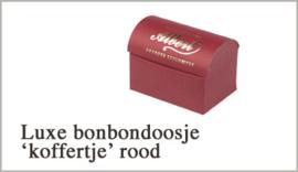 Bonbons doosje Rood