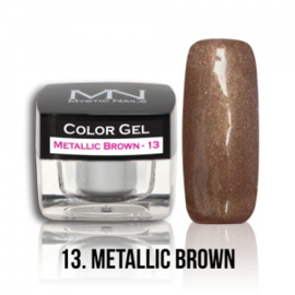 Color Gel 13 -  Metallic Brown