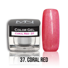 Color Gel 37 - Coral Red