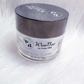Crystal Clear WowBao Acrylic Powder 56g