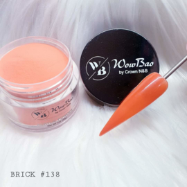 138 Brick WowBao Acrylic Powder - 28g
