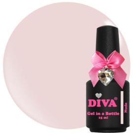 Diva Gel In A Bottle Nude 15ml