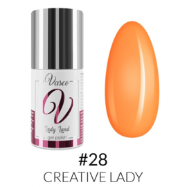 Vasco Gel Polish 028 Creative Lady  6ml - Lady Land