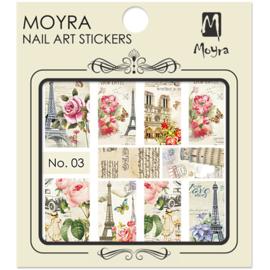Moyra Nail Art Sticker Watertransfer No. 03