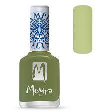 Moyra Stamping Nail Polish sp15 - Light Green