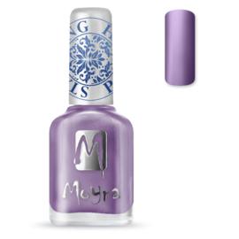 Moyra Stamping Nail Polish sp011 - metal purple
