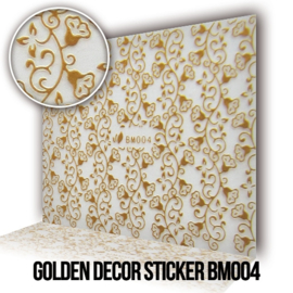 Golden Decor Sticker BM004