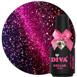 Diva Gellak Cat Eye Cherry Skies 15ml