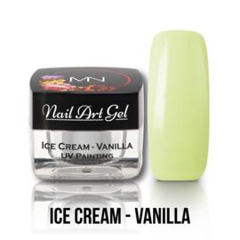 UV Painting Nail Art Gel - Ice Cream - Vanilla 4g