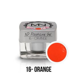 3D Plasticine Gel - 16 - Orange - 3,5g
