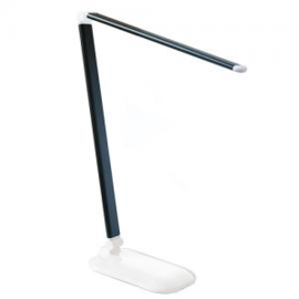 Table lamp black LED touch