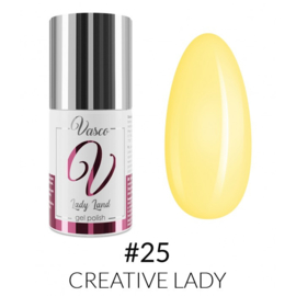Vasco Gel Polish 025 Creative Lady  6ml - Lady Land