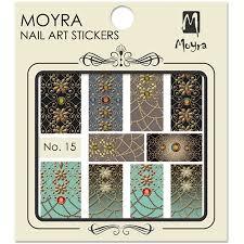 Moyra Nail Art Sticker Watertransfer No. 15