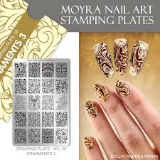 Moyra Stamping Plate 50 - Ornaments 3