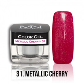 Color Gel 31 - Metallic Cherry