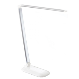 Table lamp silver LED touche
