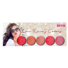 5-Delige set Diamondline Love Diva's Colors