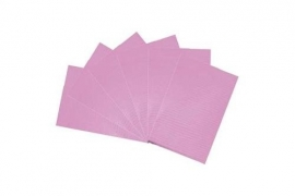 Table towels pink 100 st.