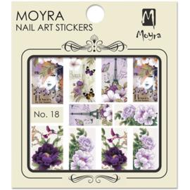 Moyra Nail Art Sticker Watertransfer No. 18