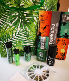 Nailart Pakket groen