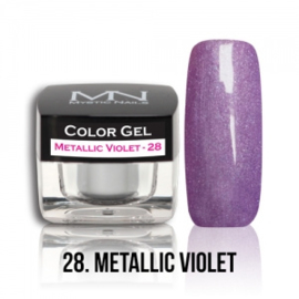 Color Gel 28 - Metallic Violet