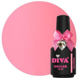 Diva Gellak Coral Pink 15ml
