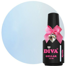 Diva Gellak French Pastel Myrtille 15ml