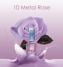 Moyra Stamping Nail Polish sp10 - Metal Rose