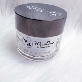 Crystal Clear WowBao Acrylic Powder 28g