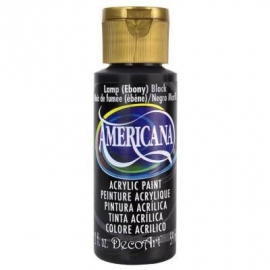 Americana Lamp (Ebony) Black