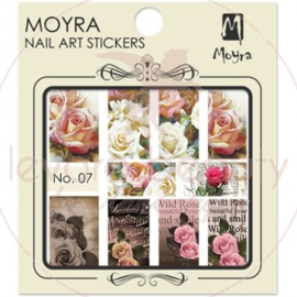 Moyra Nail Art Sticker Watertransfer No. 07