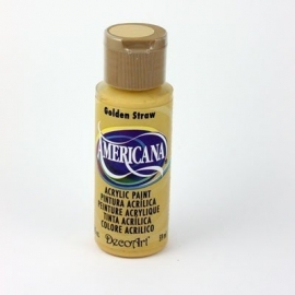 Americana Golden Straw