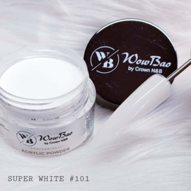 101 Super White WowBao Acrylic Powder 56g