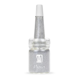 Moyra Glitter in Flesje 13 - Light Silver