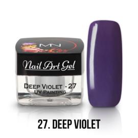 UV Painting Nail Art Gel - 27 - Deep Violet 4g