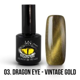ColorMe! Dragon Eye Effect 03 - Vintage Gold 12 ml Gel Polish