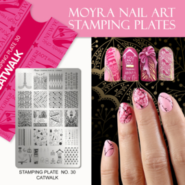 Moyra Stamping Plate 30 - Catwalk
