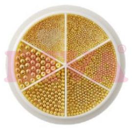 Diva Nailart Wiel Beads Gold
