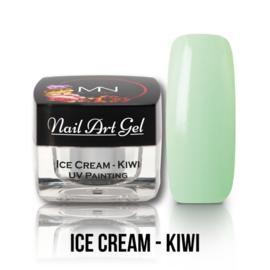 UV Painting Nail Art Gel - Ice Cream - Kiwi 4g