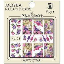Moyra Nail Art Sticker Watertransfer No. 24