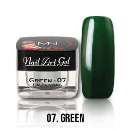 UV Painting Nail Art Gel - 07 - Green 4g