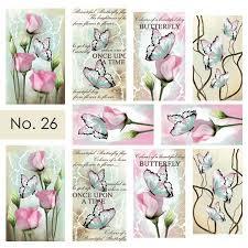 Moyra Nail Art Sticker Watertransfer No. 26