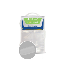 Silcare Exellent Clear Full Well Nail tips 100pcs