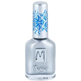 Moyra Stamping Nail Polish sp08 - Silver