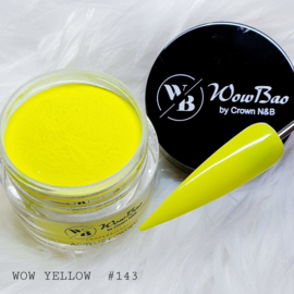 143 WOW Yellow WowBao Acrylic Powder - 28g