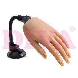 Siliconen hand met standaard - kleur Ivory