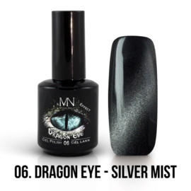 Gel Polish Dragon Eye Effect 06 - Silver Mist 12 ml