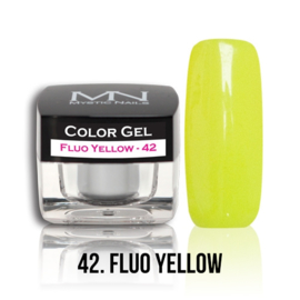 Color Gel 42 - Fluo Yellow