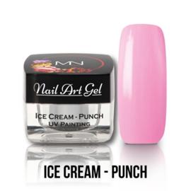 UV Painting Nail Art Gel - Ice Cream - Punch 4g