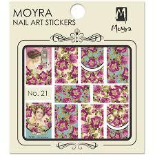 Moyra Nail Art Sticker Watertransfer No. 21